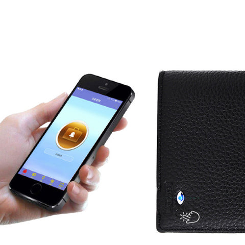 Smart Anti-Theft Wallet (Genuine Leather)