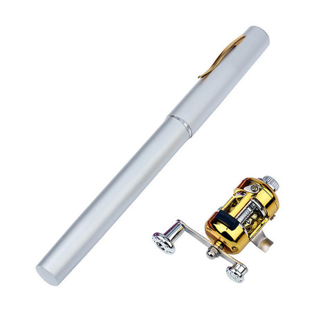 Pen Sized Fishing Rod (Aluminum Alloy)