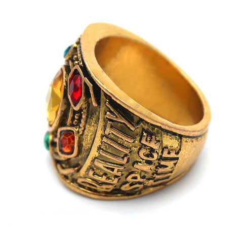 Gold Plated Thanos Ring