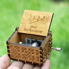 Over The Rainbow (The Wizard of Oz) - Wooden Music Box