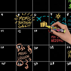 Dry Erase Wall Sticker Calendar