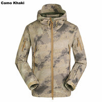 Camouflage Hooded Jacket - 9 colors
