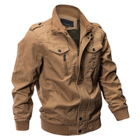 Military Style Cotton Jacket