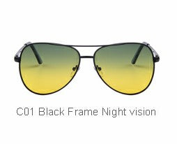 Men Polaroid Night Vision Driving Sunglasses, 6 colors available
