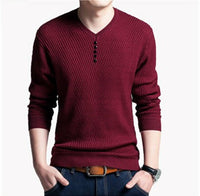 Knitted Cashmere Pullover