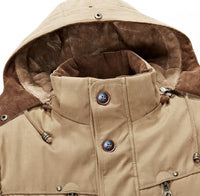 Cotton Padded Fashion Parka