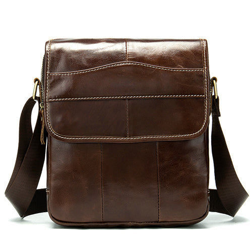 Men's Genuine Leather shoulder bag
