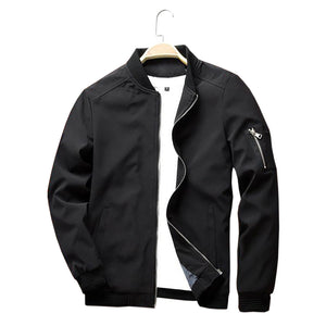 Casual O-neck Bomber Jacket