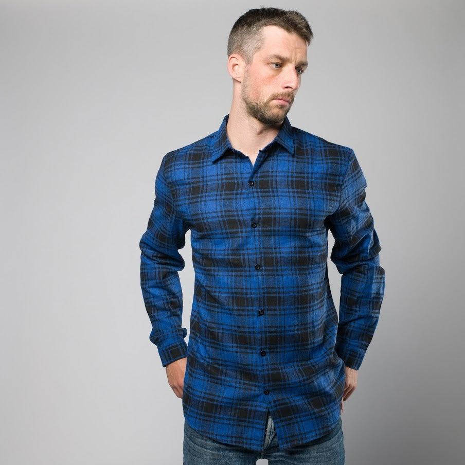 Powell Plaid Button-Down Shirt