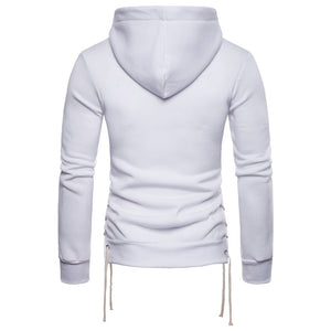 Side Lace Up Hoodie