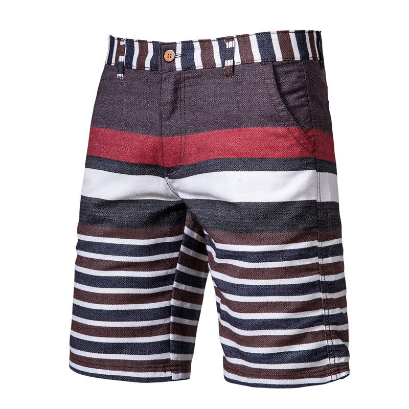 Casual Striped Shorts