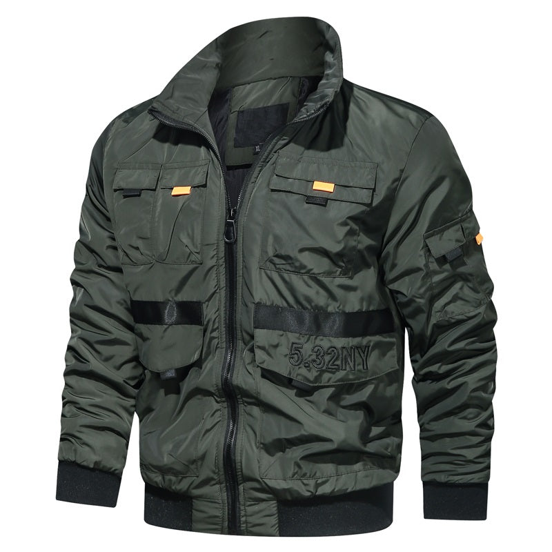 Windbreaker Military Jacket