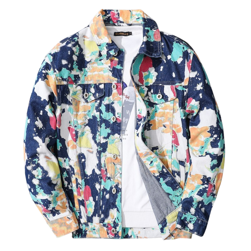 Colorful Denim Jacket