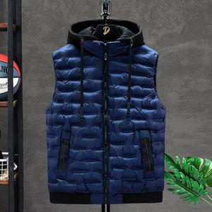 Sleeveless Hooded Vest