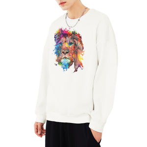 Colorful Lion Sweatshirt