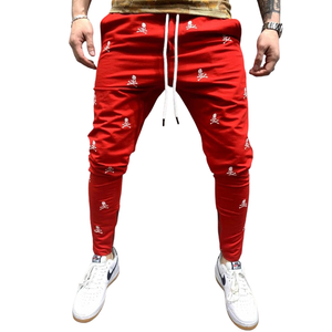 Spooky Patterned Skinny Joggers