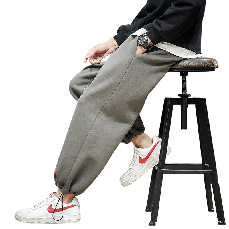 Elastic Sweatpants