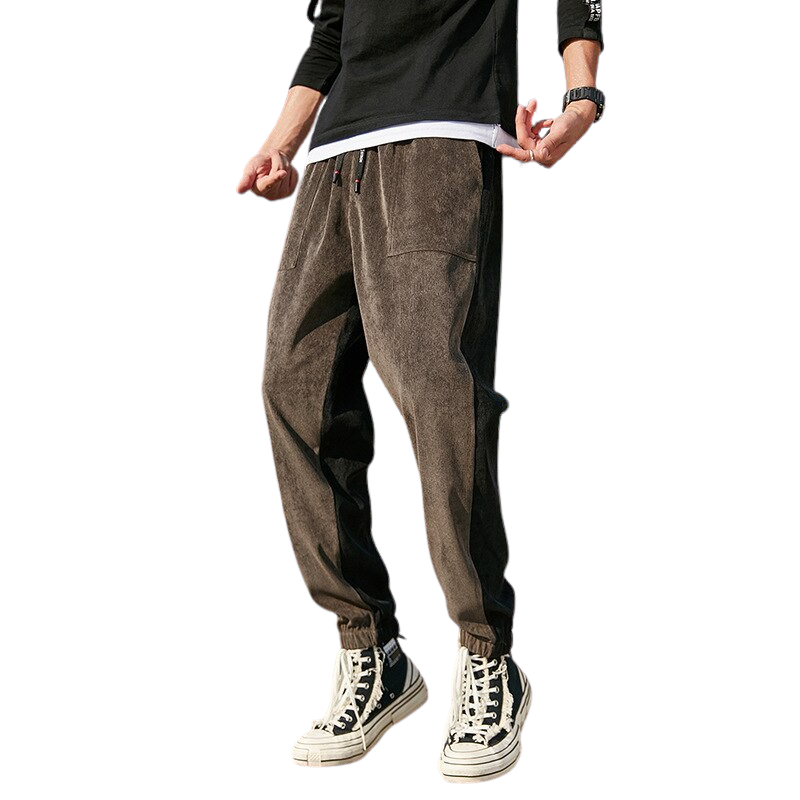 Corduroy Loose Fit Joggers