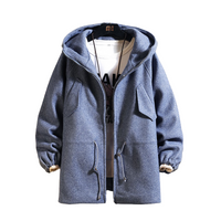 Mid-Length Hooded Coat