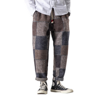 Casual Patchwork Pants