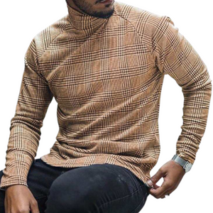 Slim Fit Checkered Long Sleeve Shirt
