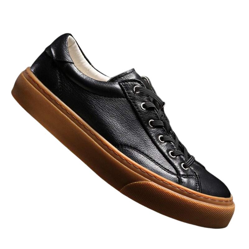 Outdoor Sewn Leather Shoes