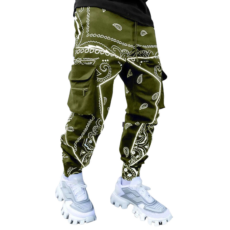 Loose Fit Hip Hop Cargo Joggers