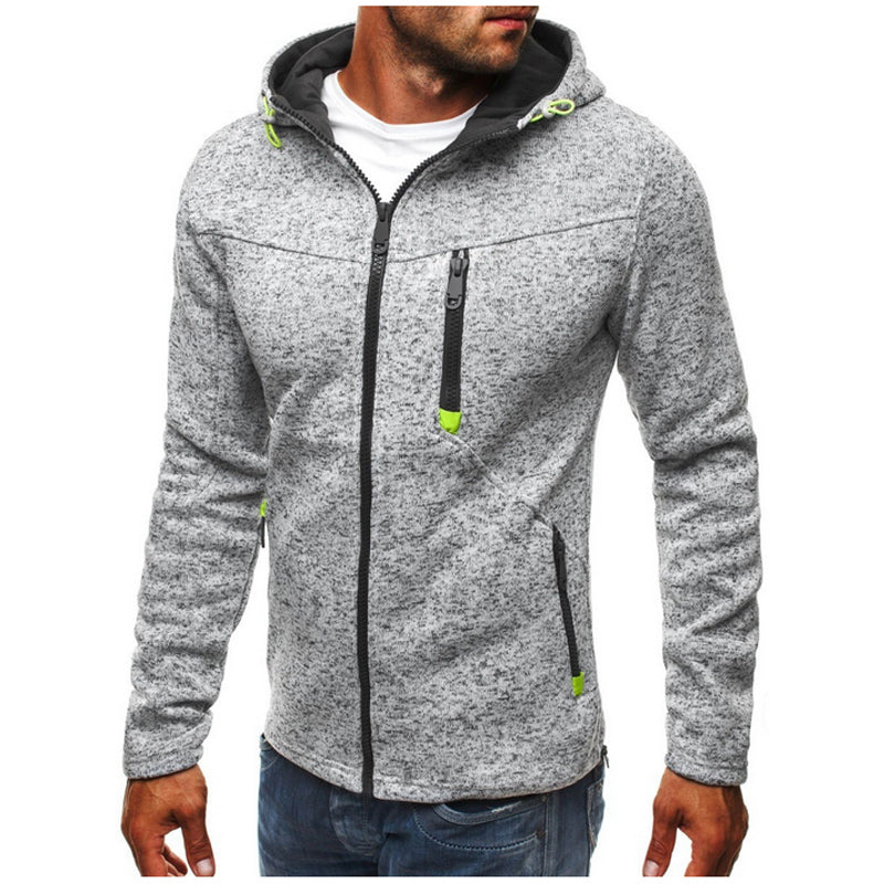 Ashton Fit Zip Up Hoodie
