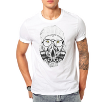 Gas Masked Cool Lion T-Shirt