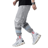 Light Grey Cargo Joggers