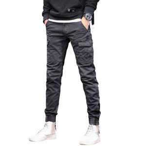 Slim Fit Cotton Pants