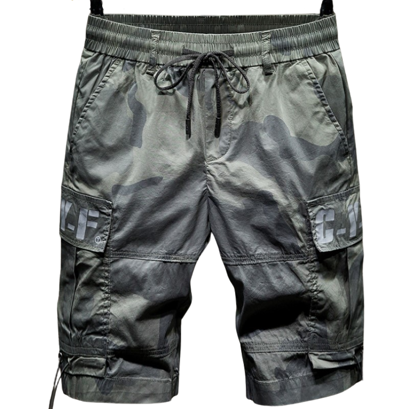 Camouflage Tied Shorts