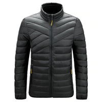 Light Padded O-Neck Jacket