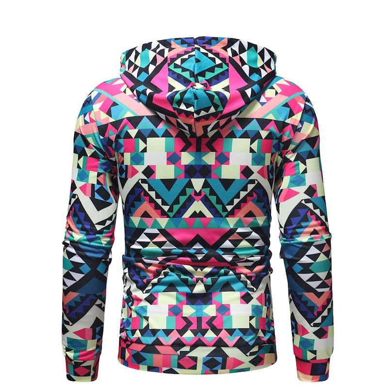 Colorful Polygon Hoodie