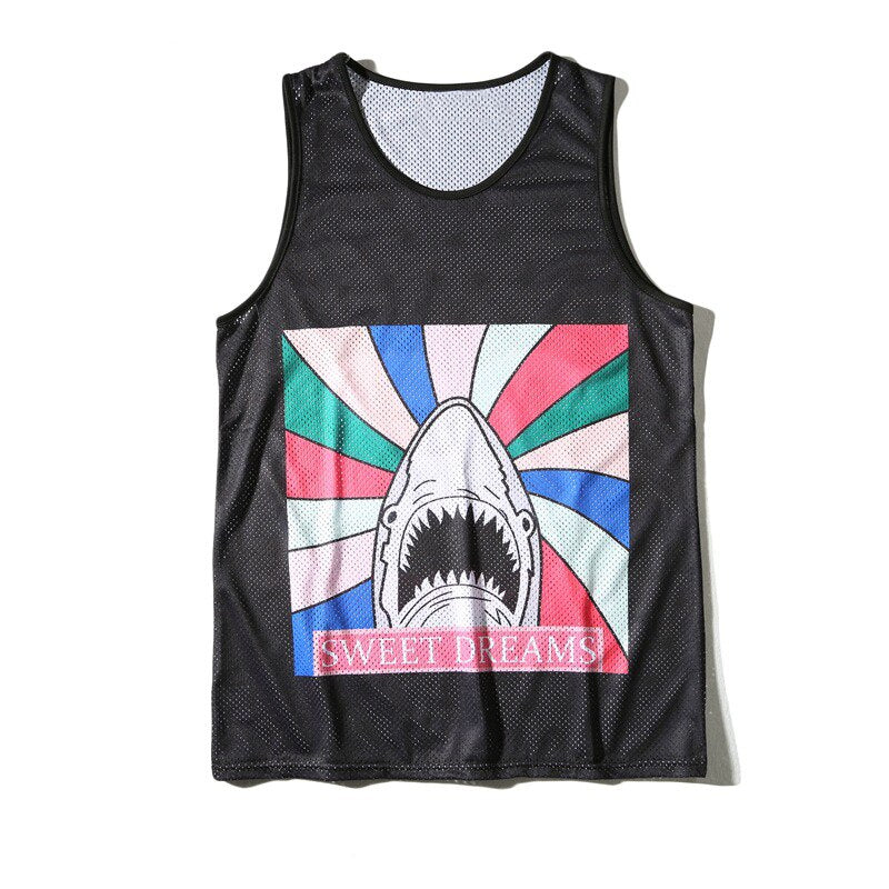 Angry Shark Tank Top