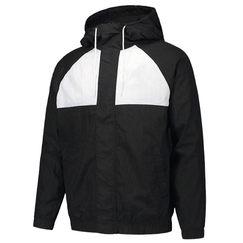 Hooded Baseball Jacket