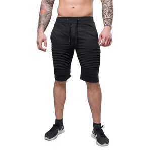 Black Knee Length Shorts