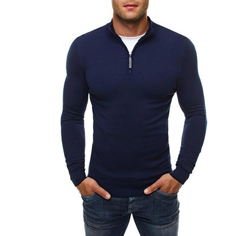 Muggerz Casual Turtleneck Pullover