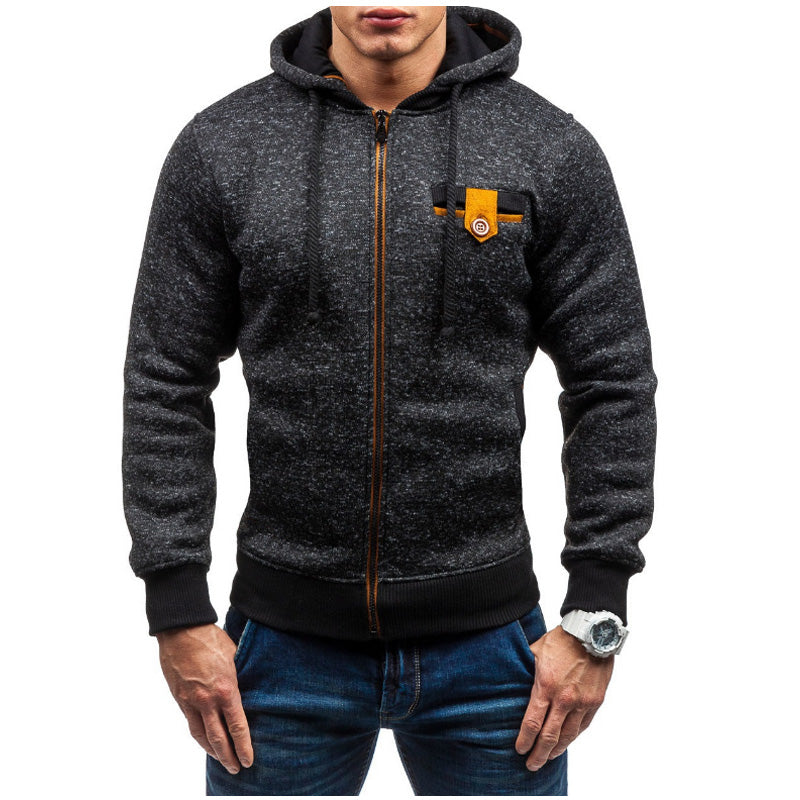 Warm Zip Up Hoodie