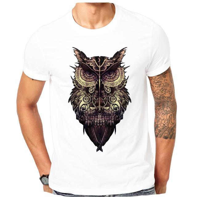 Owl Designed T-Shirt