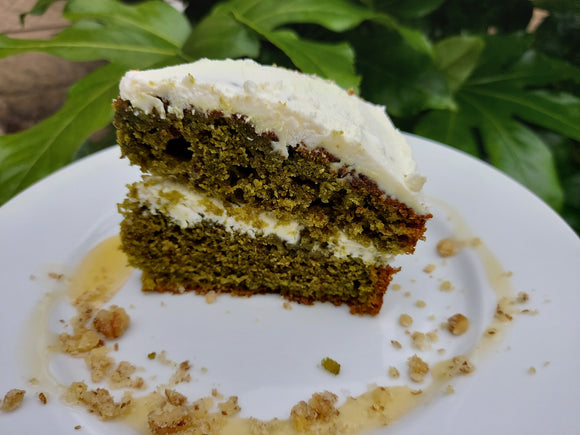 Recipe 13: Ultimate! Superfood Vegan Matcha Cake