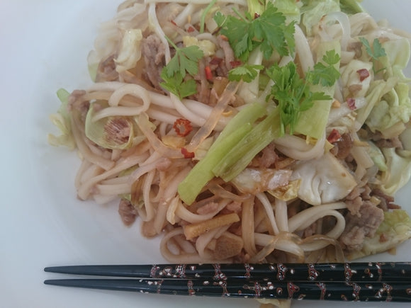 Recipe 7: Yaki Udon with Konjac in Honey Soy Sauce: Low calorie Low carb comforting food
