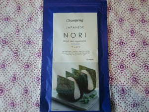 Clearspring Japanese Nori 10 sheets