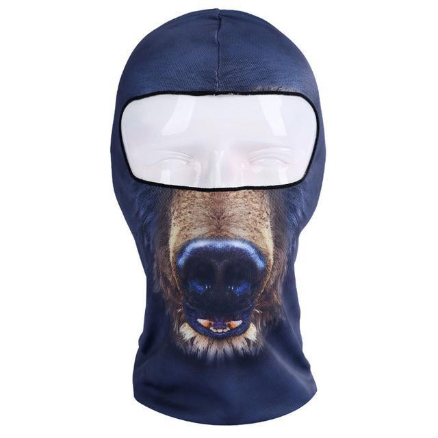 Pacific Pike -  3D Animal Full Face Mask  -  1  -