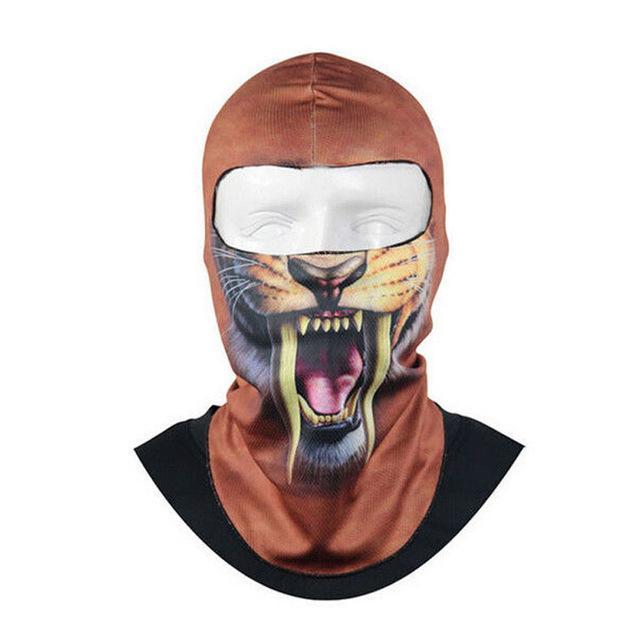Pacific Pike -  3D Animal Full Face Mask  -  2  -