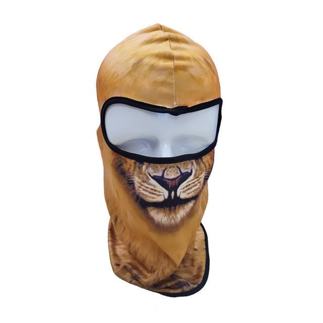 Pacific Pike -  3D Animal Full Face Mask  -  20  -