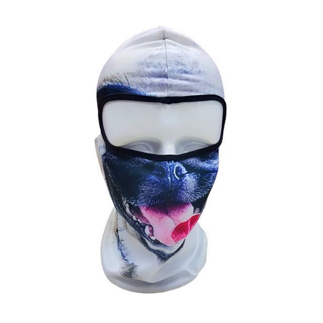 Pacific Pike -  3D Animal Full Face Mask  -  21  -