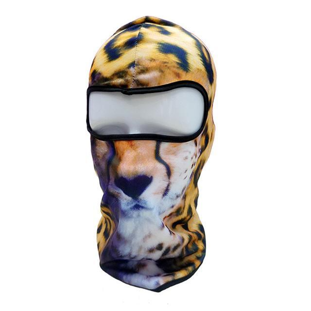 Pacific Pike -  3D Animal Full Face Mask  -  22  -