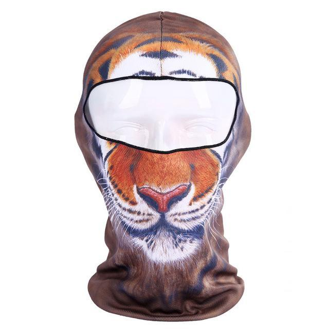 Pacific Pike -  3D Animal Full Face Mask  -  3  -