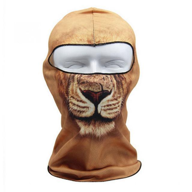 Pacific Pike -  3D Animal Full Face Mask  -  5  -